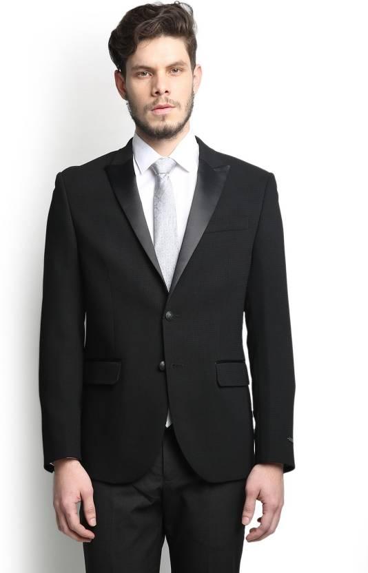 Blackberrys Self Design Single Breasted Party Men's Blazer By Flipkart @ Rs.5,945