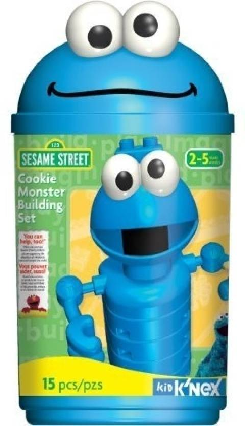 8e88bc9b8 Knex Sesame Street - Cookie Monster Building Set - Sesame Street - Cookie  Monster Building Set . shop for Knex products in India. Toys for 2 - 7  Years Kids.