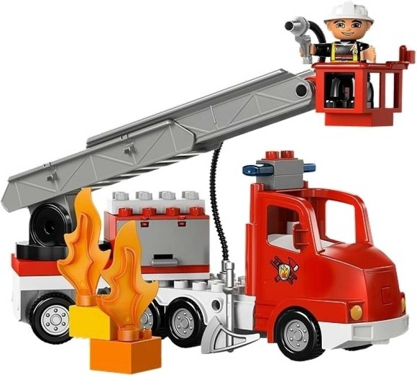 lego fire truck fire truck shop for lego products in india toys for 2 5 years kids. Black Bedroom Furniture Sets. Home Design Ideas