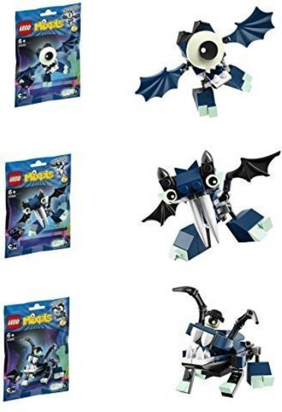 8e7ec3b59e90 Lego Mixels Series 4 Bundle Set of Glowkies