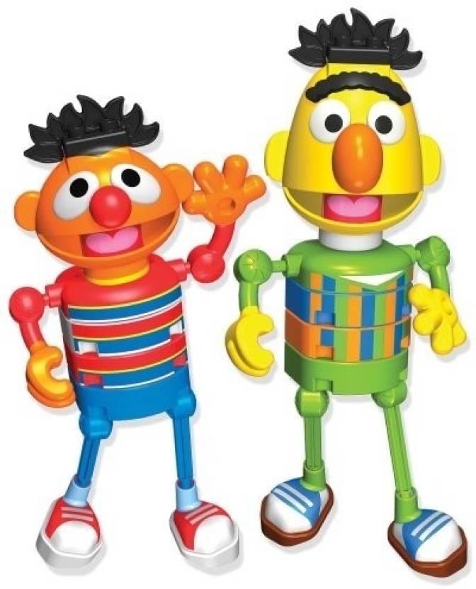 Knex Sesame Street Bert and Ernie Building Set - Sesame Street Bert