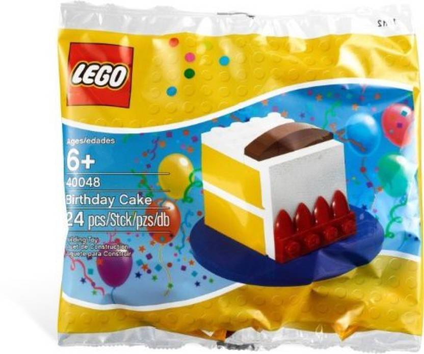 Lego Creator Birthday Cake 80th Anniversary Limited Edition
