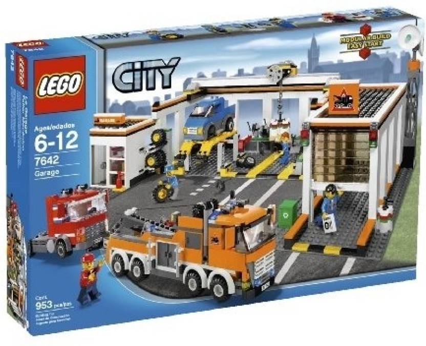 Lego City Garage : Lego city garage city garage shop for lego products