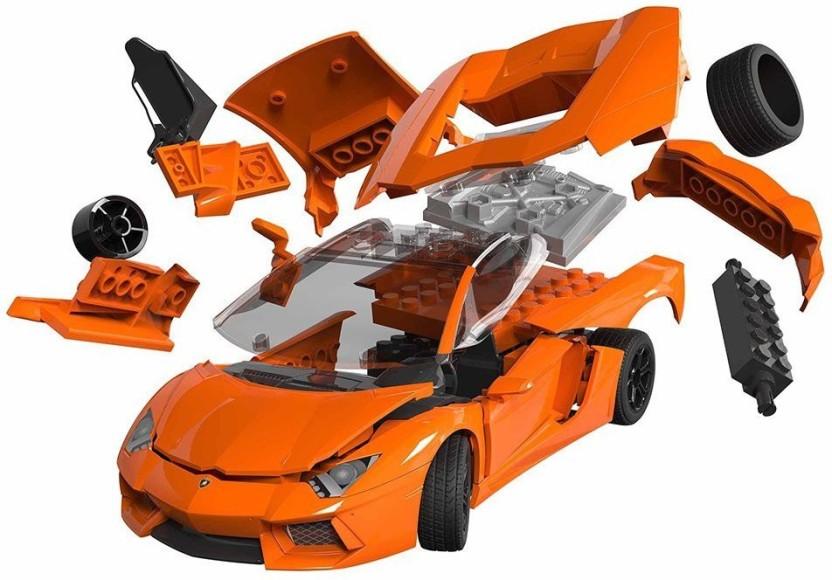 Funskool RCS Toys Quick Build Lamborghini Aventador   J6007