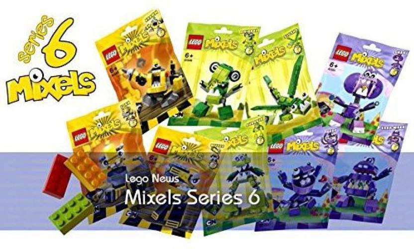a93d114a0041 Lego Mixels Series 6 Complete Set - Mixels Series 6 Complete Set ...