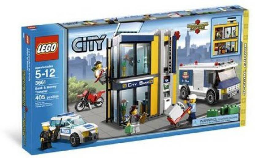 Lego City Special Edition Set 3661 Bank Money Transfer