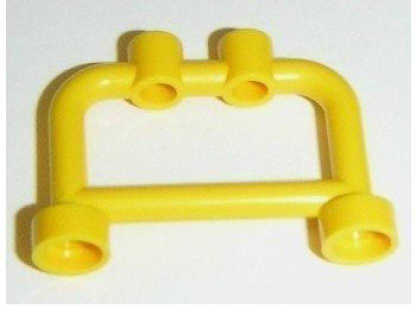 Lego Building Accessories 1 X 4 2 Bright Yellow Hanger