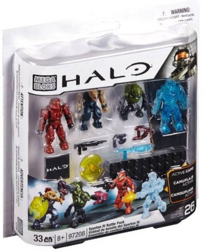 Mega Bloks Mega Bloks Halo Spartan Iv Battle Pack - Mega