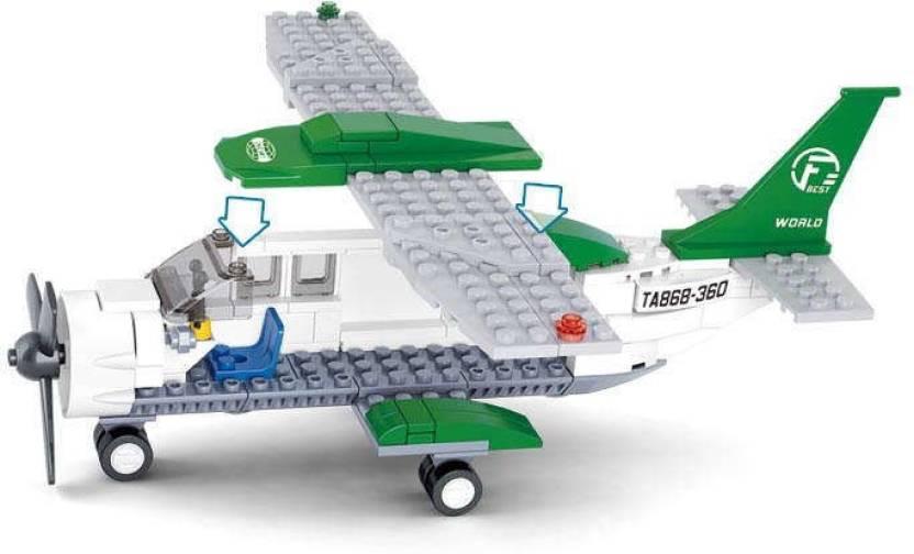 Sluban Sluban Lego C-mini-transportplane M38-B0362