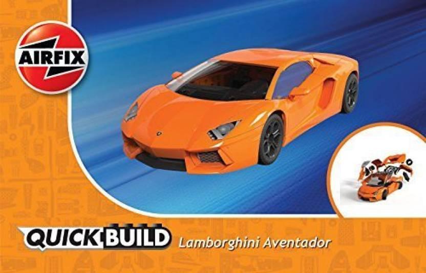 Airfix Quickbuild Lamborghini Aventador Lp700 4 Plastic Model Kit