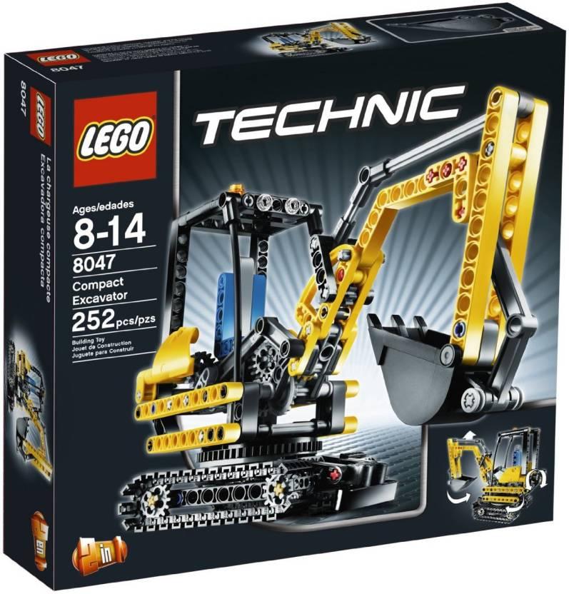 Lego TECHNIC Mini Excavator 8047 - TECHNIC Mini Excavator