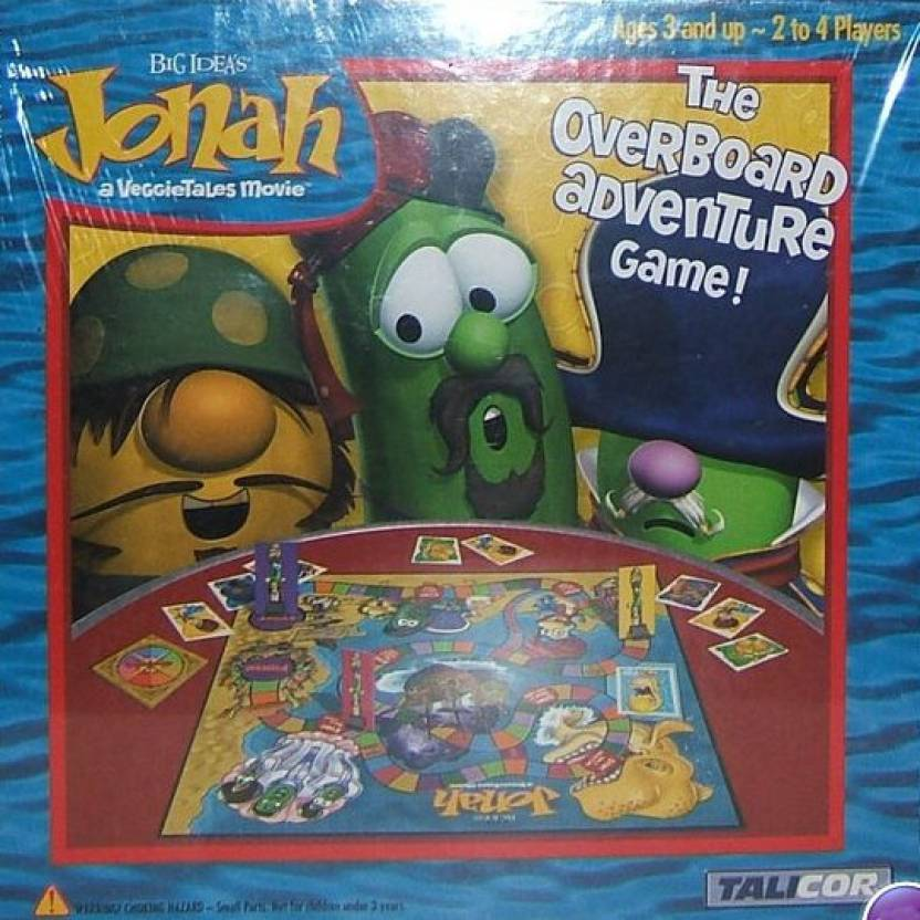 Tailcor Veggie Tales-Jonah the Overboard Adventure Board