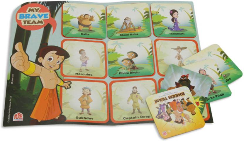 MadRat Games Bheem Team Board Game