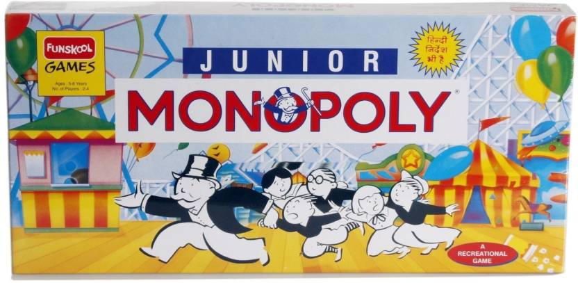 Funskool Junior Monopoly Board Game