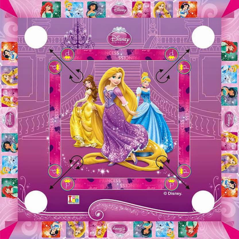 Best Disney Toys And Games For Kids : Disney princesses carrom big size board game