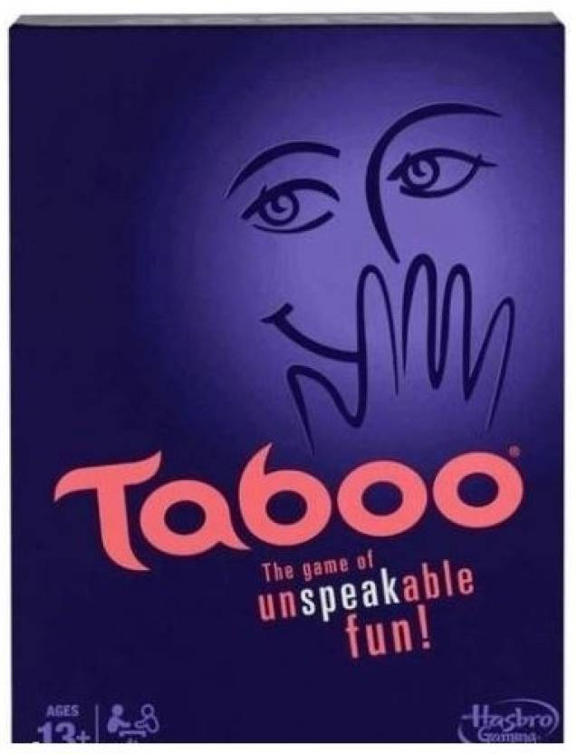 Hasbro Taboo Party Game For 13+ the Game of Unspeakable Fun Board Game