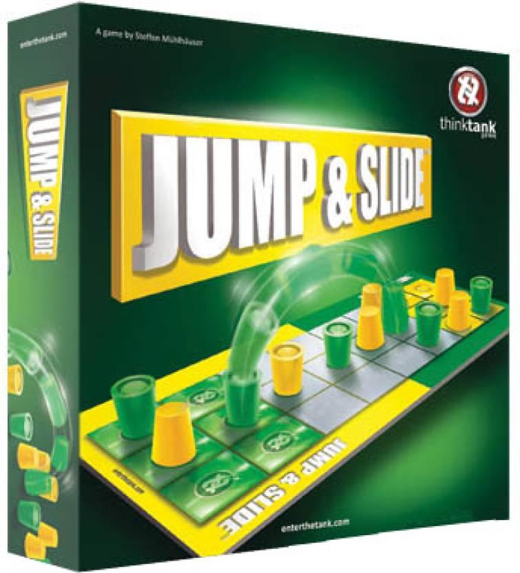 Think Tank Games Jump & Slide Board Game