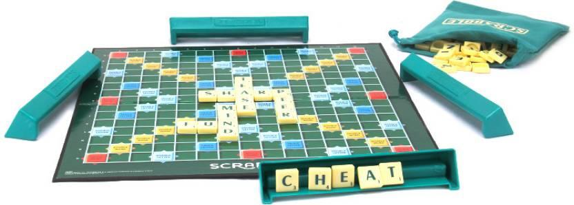 Mattel Scrabble Original - Brand Crossword Board Game