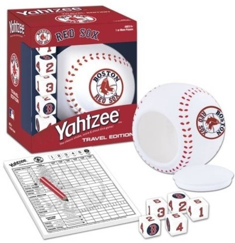 USAopoly Boston Red Sox Yahtzee Board Game - Boston Red Sox