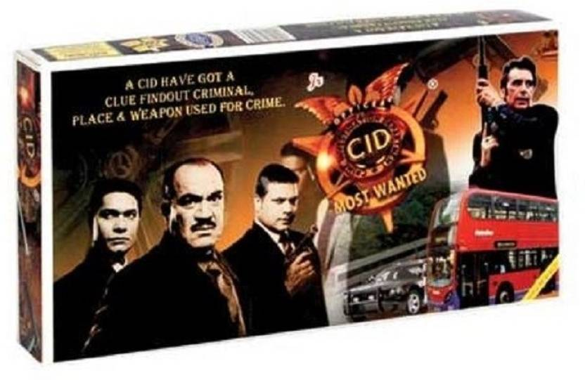 Giftoscope CID Most Wanted [Senior] Board Game