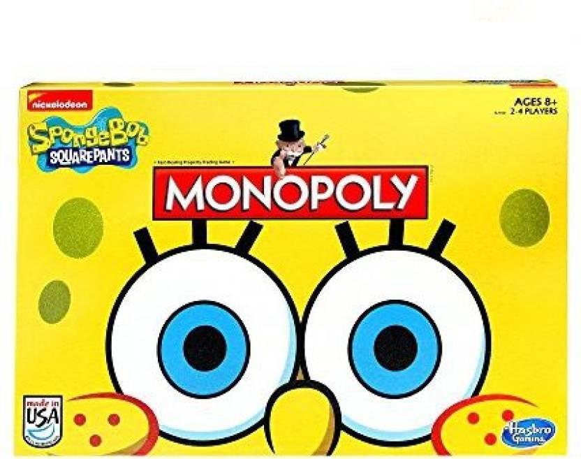 Spongebob squarepants paper monopoly game pieces & parts for sale.