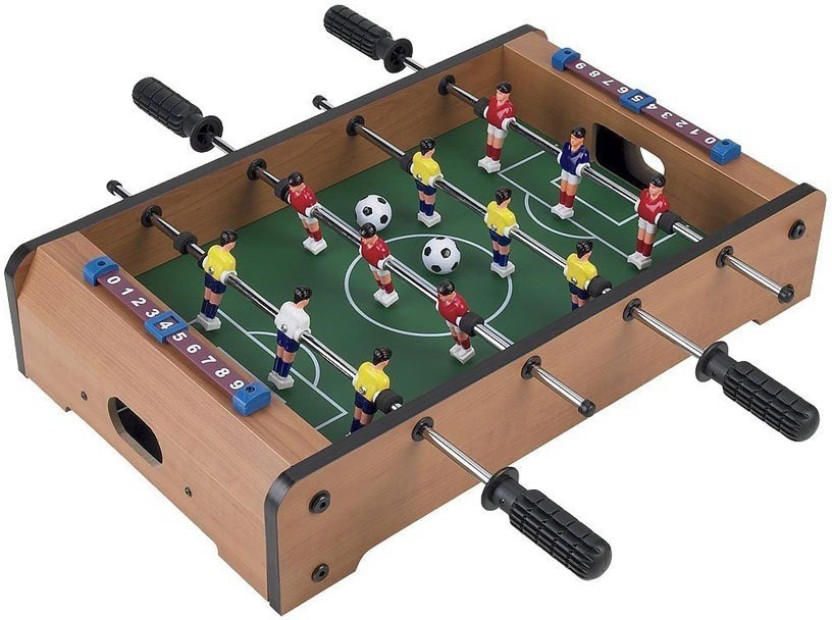 Fantasy India Mini Wooden Table Top Soccer Game Board Game