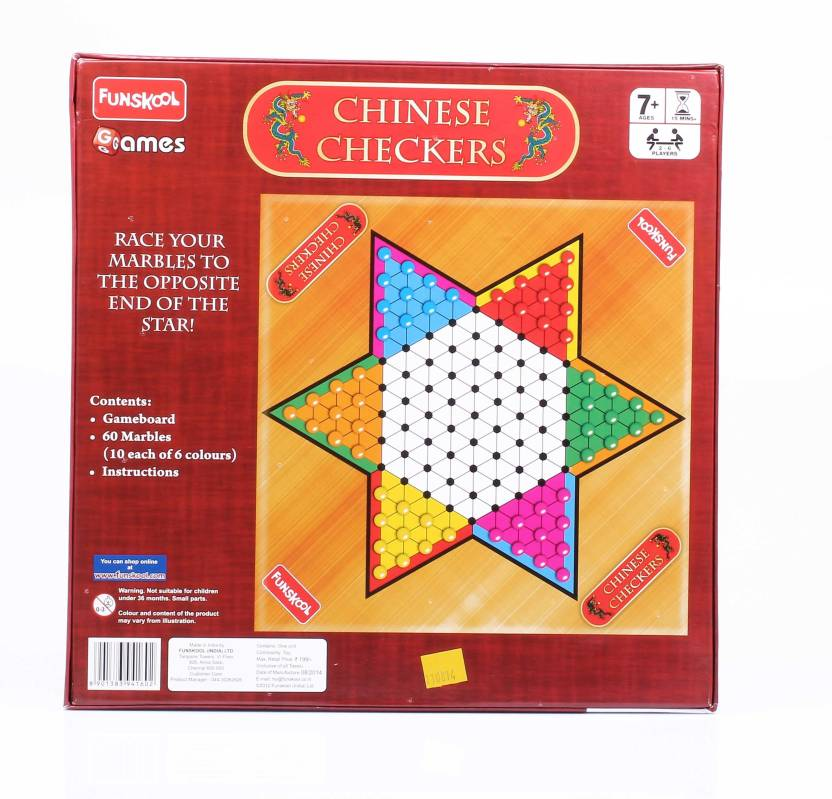 Funskool Chinese Checkers Board Game