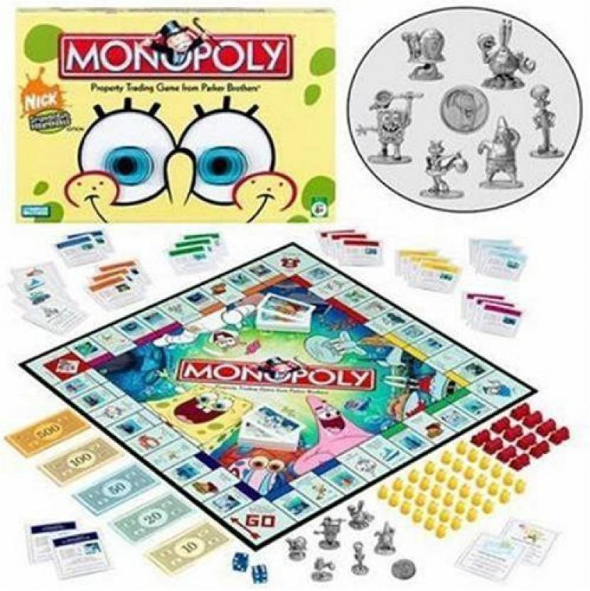 Monopoly: spongebob squarepants edition gameplay youtube.