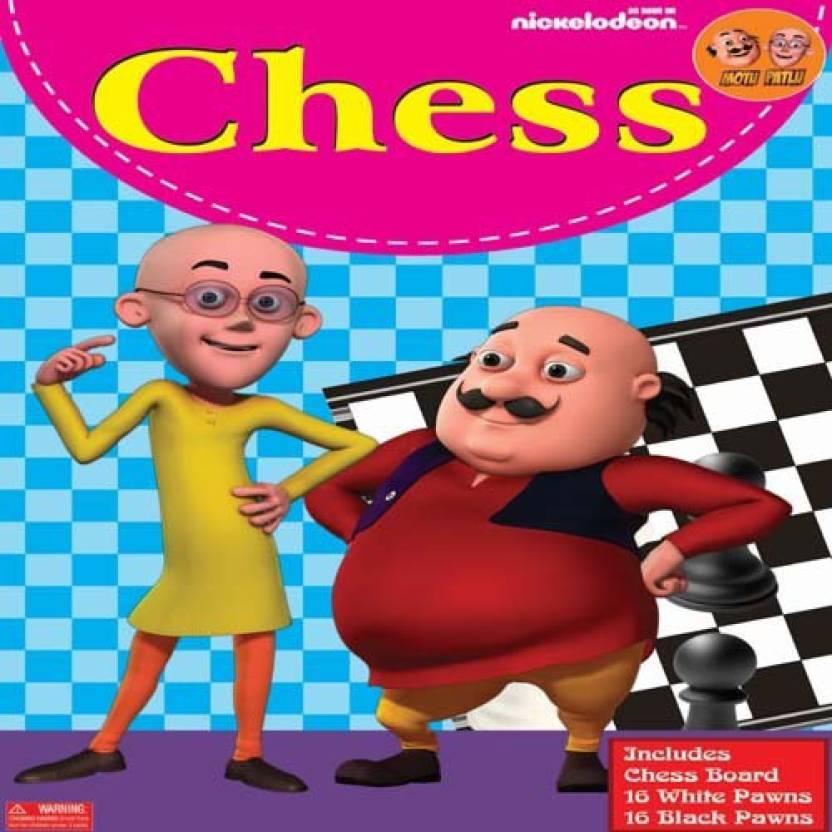 Bpi Chess Motu Patlu Board Game Chess Motu Patlu Buy Motu