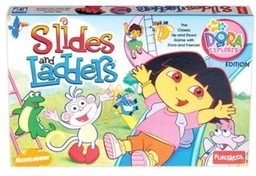 Funskool Slides and Ladders Board Game - Slides and ...