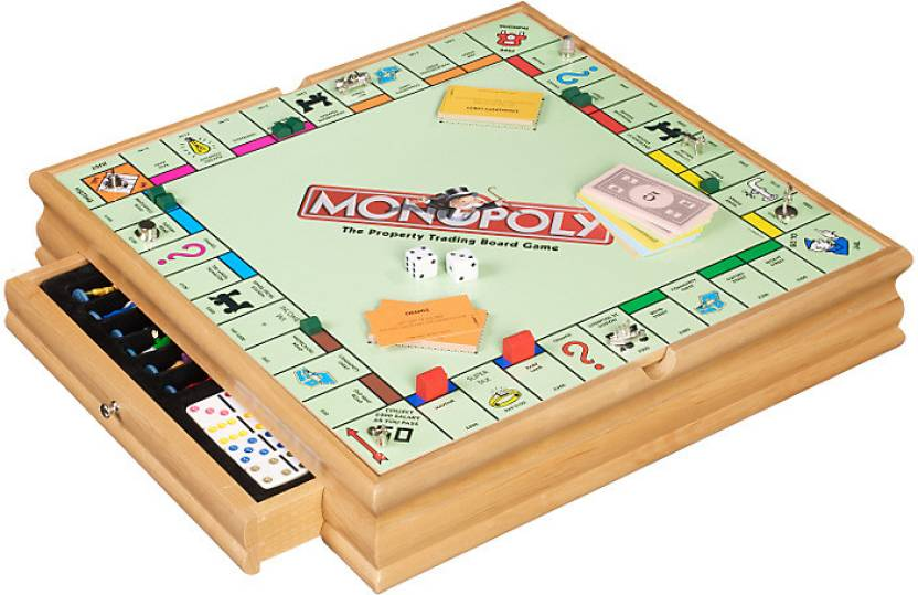 Hasbro Monopoly and Cluedo Plus 5 Classic Games Board Game