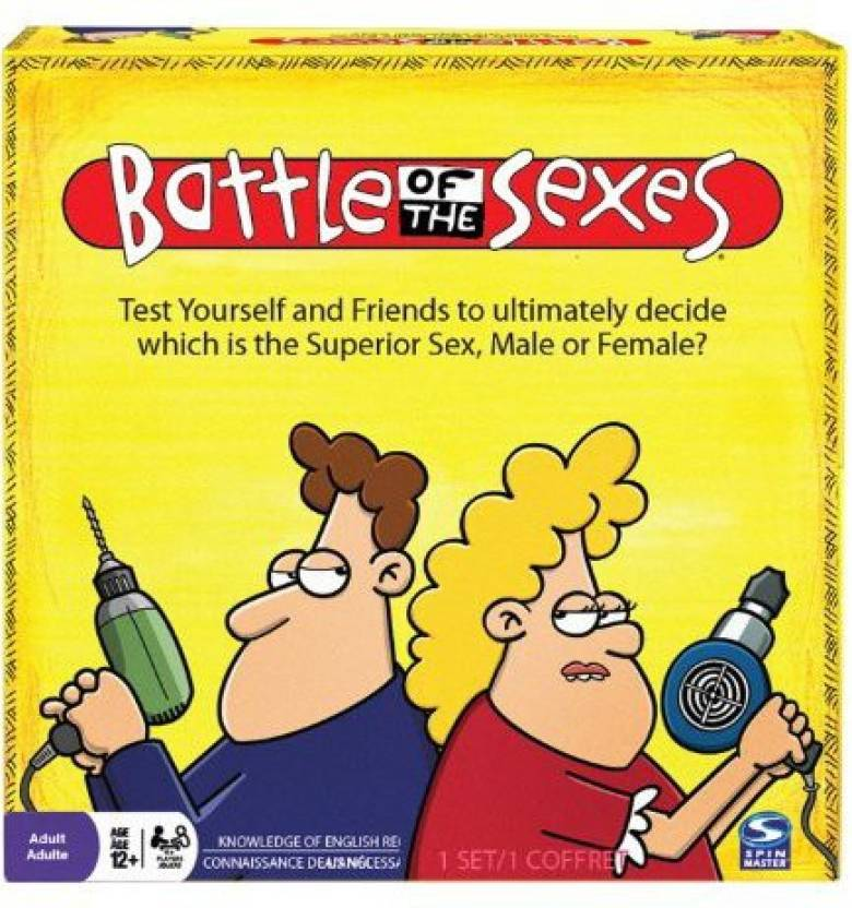 Spin Master Games Battle Of The Sexes Board Game - Battle Of The Sexes .  shop for Spin Master Games products in India. | Flipkart.com