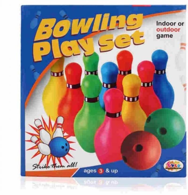 6fc3e91e4adc8d Ekta Bowling Play Set Board Game - Bowling Play Set . shop for Ekta  products in India. | Flipkart.com