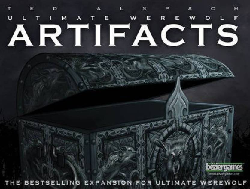 Bezier Games Ultimate Werewolf Artifacts 2E Board Game