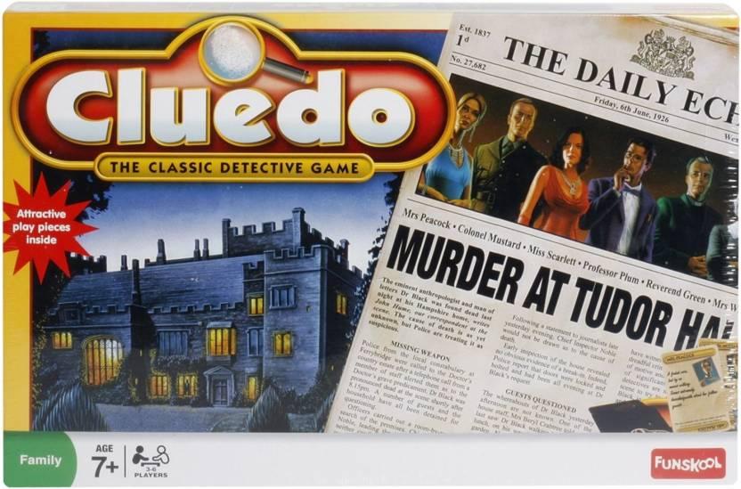 Funskool Cluedo Board Game Cluedo Shop For Funskool Products In