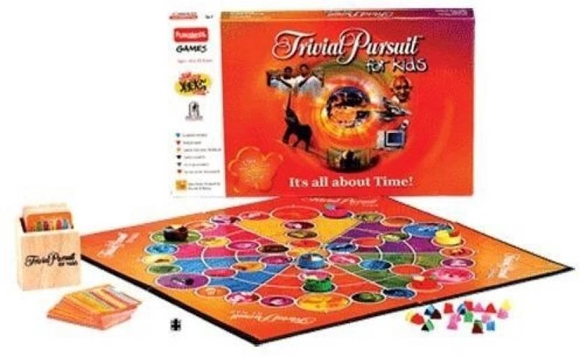 Funskool Trivial Pursuit Kids Board Game