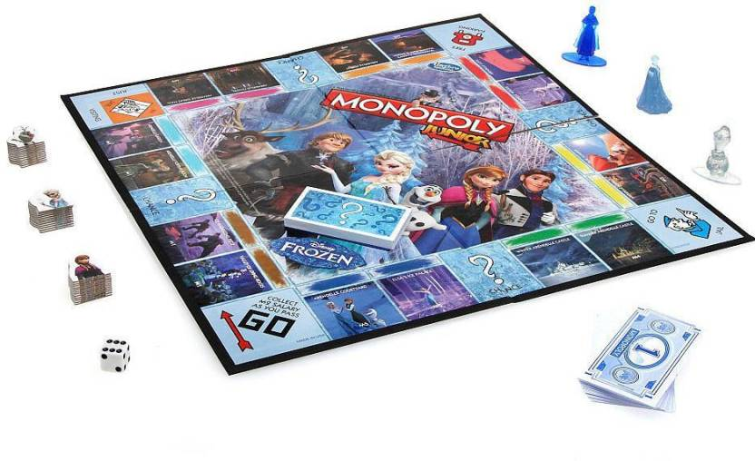 Funskool Monopoly Junior Frozen Board Game