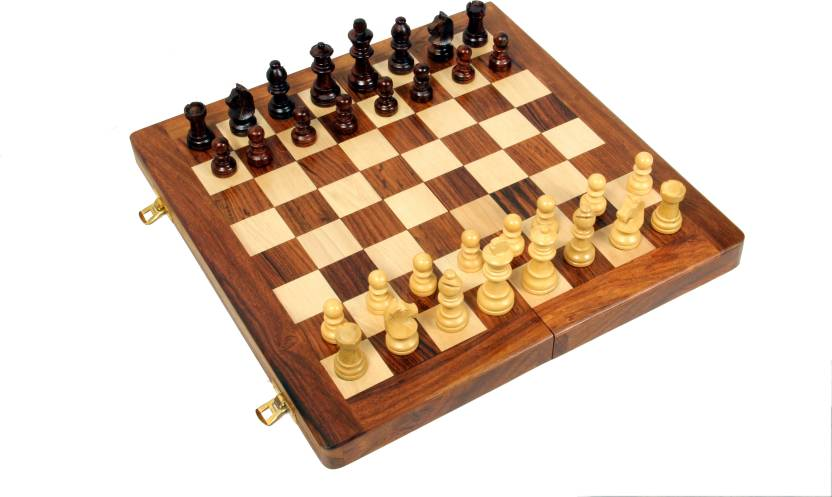 Avm 16 Folding Chess Set With Coins Board Game 16 Folding Chess