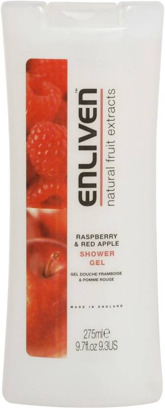 Enliven Raspberry & Red Apple Shower Gel