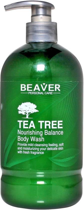 Beaver Tea Tree Nourishing Balance Body Wash