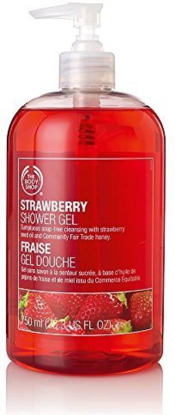 the body shop strawberry shower gel jumbo buy the body shop
