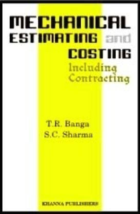 Mechanical Estimating And Costing 16th Edition