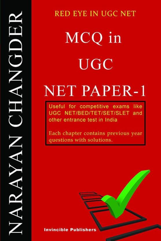 MCQ IN UGC NET PAPER-1: Buy MCQ IN UGC NET PAPER-1 by NARAYAN