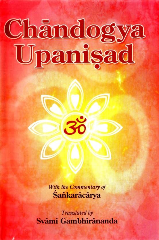 Chandogya upanishad gambhirananda pdf
