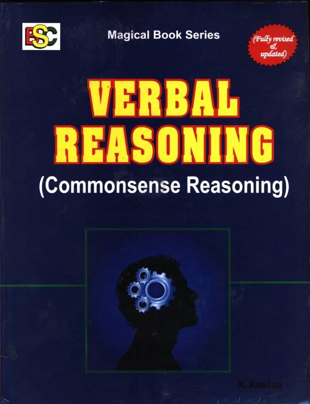 VERBAL REASONING { COMMONSENCE REASONING }