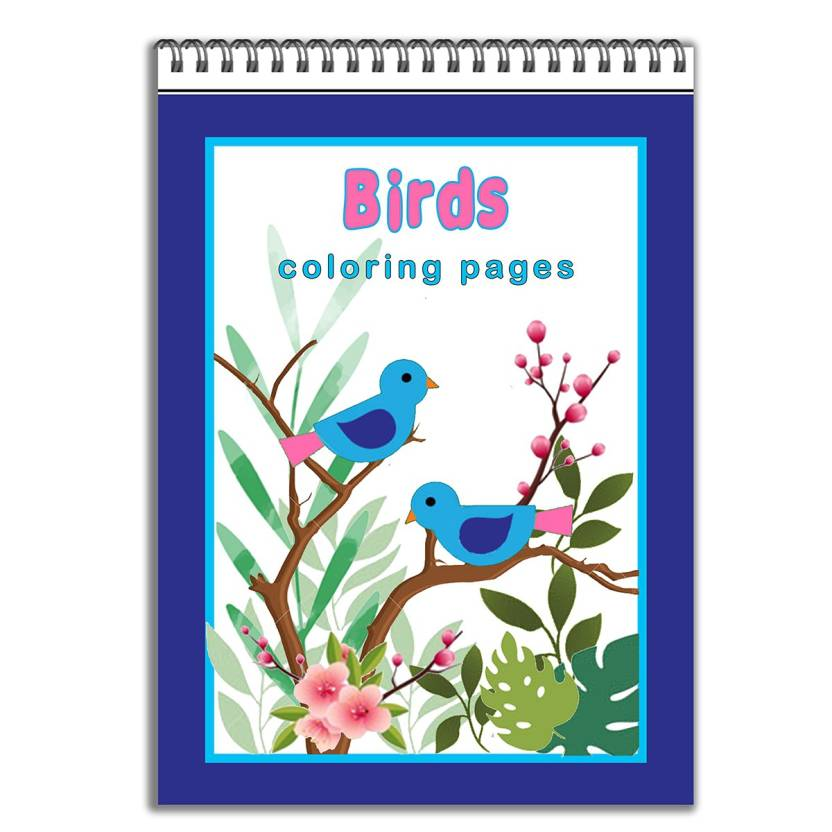 Birds Coloring Pages: Buy Birds Coloring Pages by Shri at Low Price ...