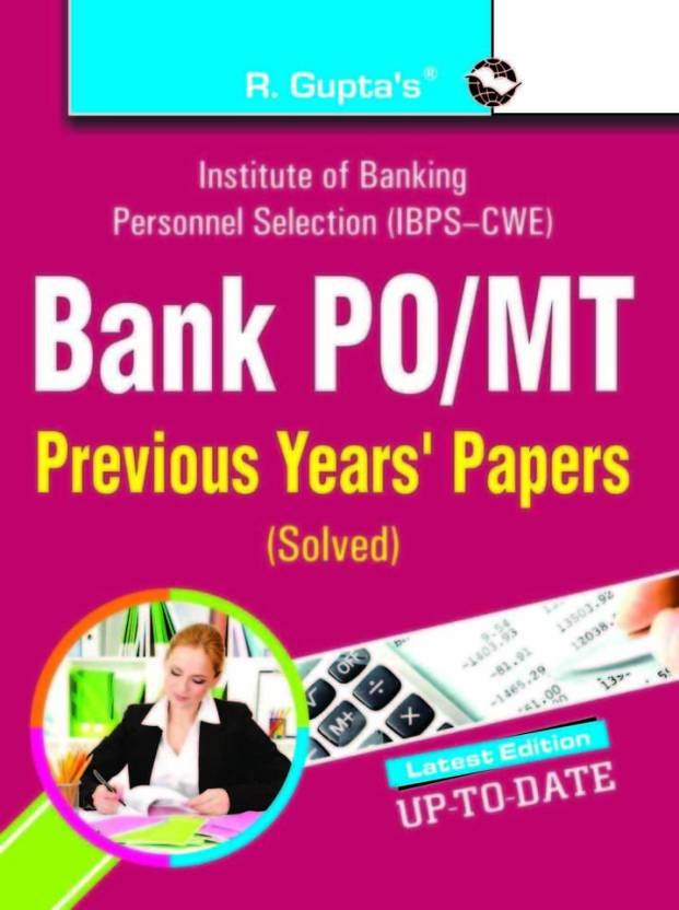 Bank P.O./MT Previous Solved Papers 2018 Edition
