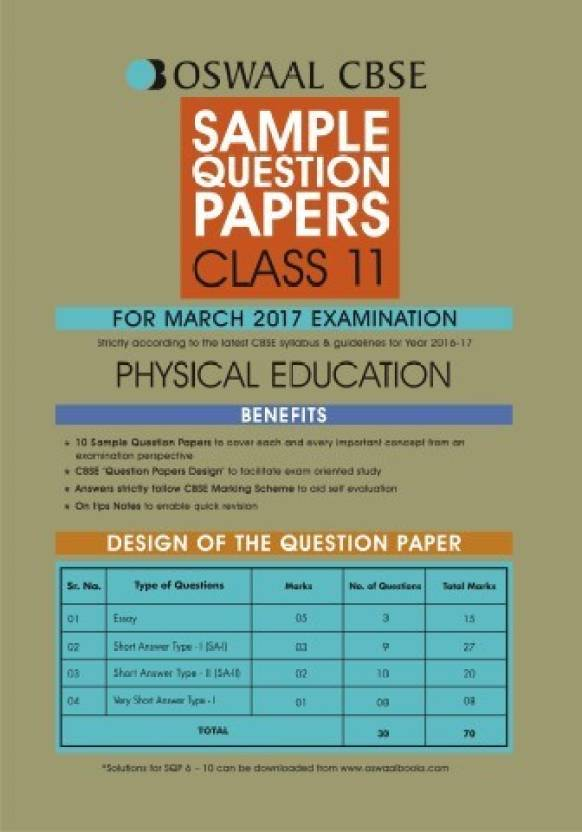 Class 11 physical education syllabus for cbse board exam 2018 19.