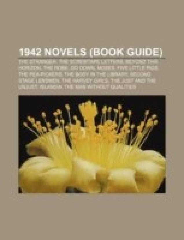 1942 Novels Book Guide The Stranger The Screwtape Letters