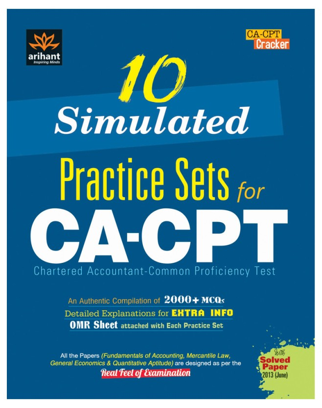 10 simulated practice sets for ca cpt buy 10 simulated practice rh flipkart com CPT Book CPT Codes 2013
